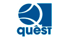 Logo Quest (Centre for Quantum Engineering and Space-Time Research) und Link dorthin