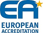 Logo der European Accreditation