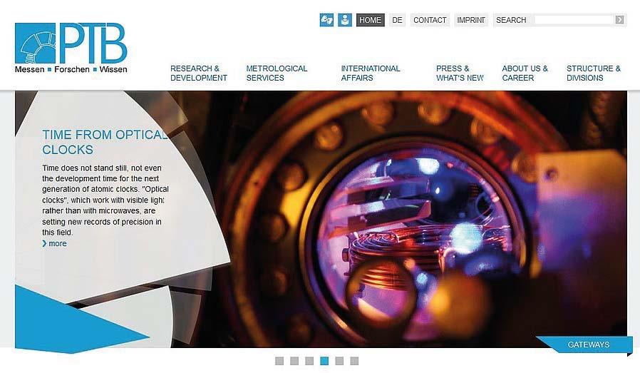 PTB's New Website - PTB de
